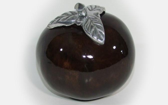 gourd—medium—brown